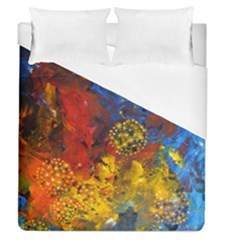 Space Pollen Duvet Cover Single Side (full/queen Size)