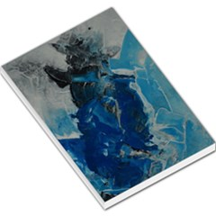 Blue Abstract Large Memo Pads