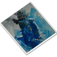 Blue Abstract Small Memo Pads