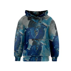 Blue Abstract Kid s Pullover Hoodies