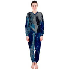 Blue Abstract OnePiece Jumpsuit (Ladies)