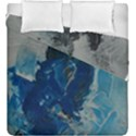 Blue Abstract Duvet Cover (King Size) View1