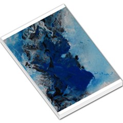 Blue Abstract No.2 Large Memo Pads