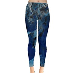 Blue Abstract No 2 Women s Leggings