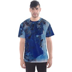 Blue Abstract No.2 Men s Sport Mesh Tees