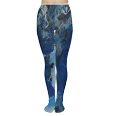 Blue Abstract No.2 Women s Tights
