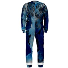 Blue Abstract No.2 OnePiece Jumpsuit (Men)