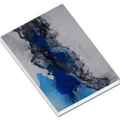 Blue Abstract No 3 Large Memo Pads