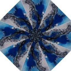 Blue Abstract No.3 Golf Umbrellas