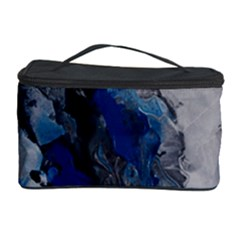 Blue Abstract No.3 Cosmetic Storage Cases
