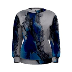 Blue Abstract No.3 Women s Sweatshirts