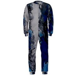 Blue Abstract No.3 OnePiece Jumpsuit (Men)