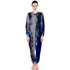 Blue Abstract No.3 OnePiece Jumpsuit (Ladies)