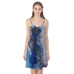 Blue Abstract No.3 Camis Nightgown