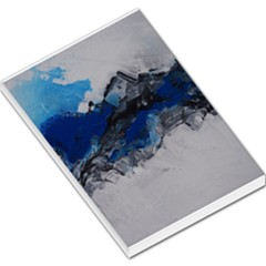Blue Abstract No.4 Large Memo Pads