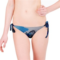 Blue Abstract No.4 Bikini Bottoms