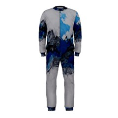 Blue Abstract No.4 OnePiece Jumpsuit (Kids)