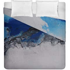 Blue Abstract No 4 Duvet Cover (king Size)