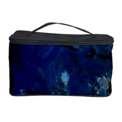 Blue Abstract No.5 Cosmetic Storage Cases