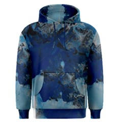 Blue Abstract No.5 Men s Pullover Hoodies