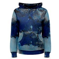 Blue Abstract No.5 Women s Pullover Hoodies