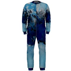 Blue Abstract No.5 OnePiece Jumpsuit (Men)