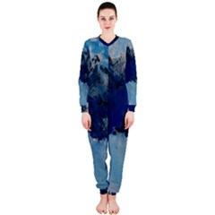 Blue Abstract No.5 OnePiece Jumpsuit (Ladies)