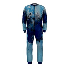 Blue Abstract No.5 OnePiece Jumpsuit (Kids)