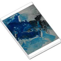 Blue Abstract No. 6 Large Memo Pads