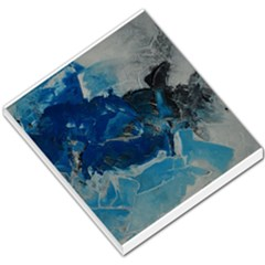 Blue Abstract No  6 Small Memo Pads