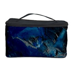 Blue Abstract No. 6 Cosmetic Storage Cases