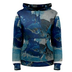 Blue Abstract No. 6 Women s Pullover Hoodies