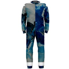Blue Abstract No. 6 OnePiece Jumpsuit (Men)