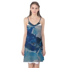 Blue Abstract No. 6 Camis Nightgown