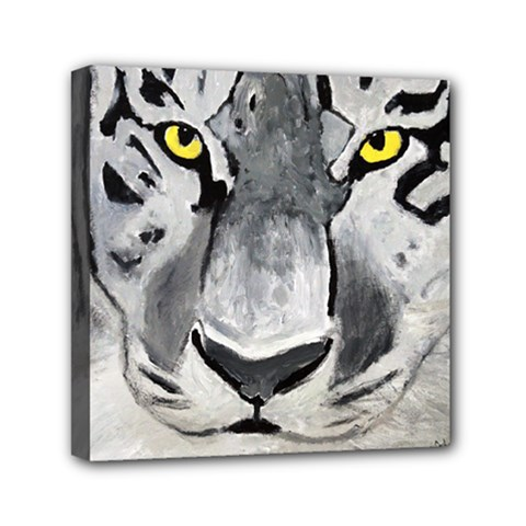 The Eye If The Tiger Mini Canvas 6  X 6