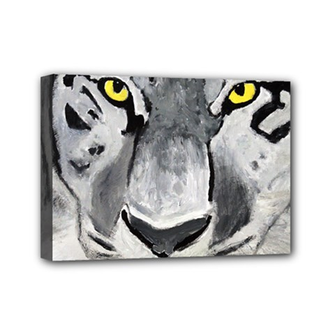 The Eye If The Tiger Mini Canvas 7  X 5