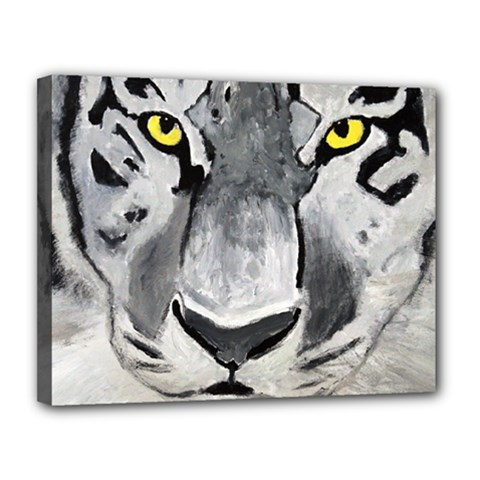 The Eye If The Tiger Canvas 14  X 11