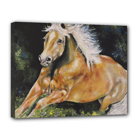 Mustang Canvas 14  x 11