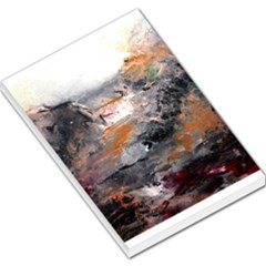 Natural Abstract Landscape Large Memo Pads