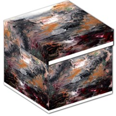 Natural Abstract Landscape Storage Stool 12