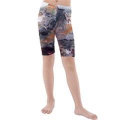 Natural Abstract Landscape Kid s swimwear