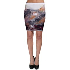 Natural Abstract Landscape Bodycon Skirts