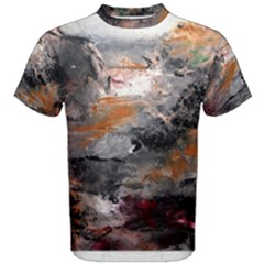 Natural Abstract Landscape Men s Cotton Tees