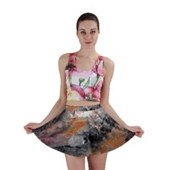 Natural Abstract Landscape Mini Skirts