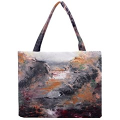 Natural Abstract Landscape Tiny Tote Bags