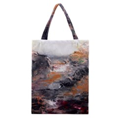 Natural Abstract Landscape Classic Tote Bags