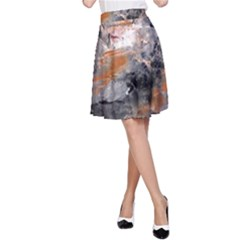 Natural Abstract Landscape A-Line Skirts