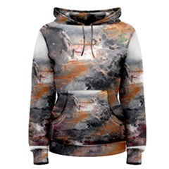 Natural Abstract Landscape Women s Pullover Hoodies