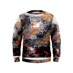 Natural Abstract Landscape Boys  Sweatshirts