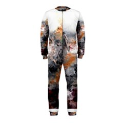 Natural Abstract Landscape OnePiece Jumpsuit (Kids)